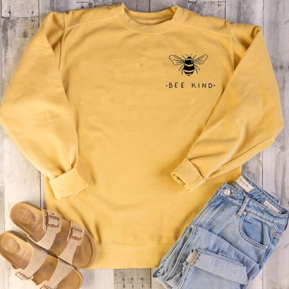 Bee Kind Kawaii Women Sweatshirt DV01