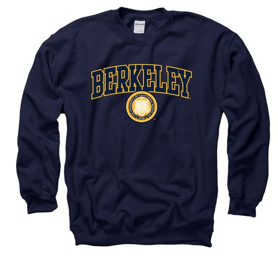 Berkeley Arch and Seal Crew Neck Sweatshirt DV01
