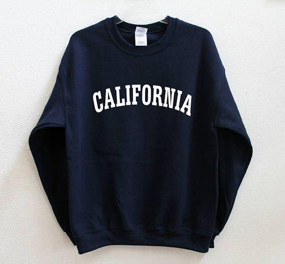 CALIFORNIA Sweatshirt EM01
