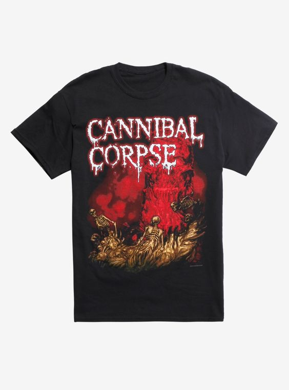 Cannibal Corpse Skeleton River T-shirt DV01
