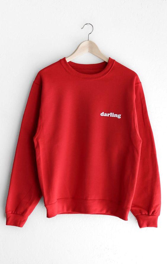 Darling Oversized Sweatshirt DV01