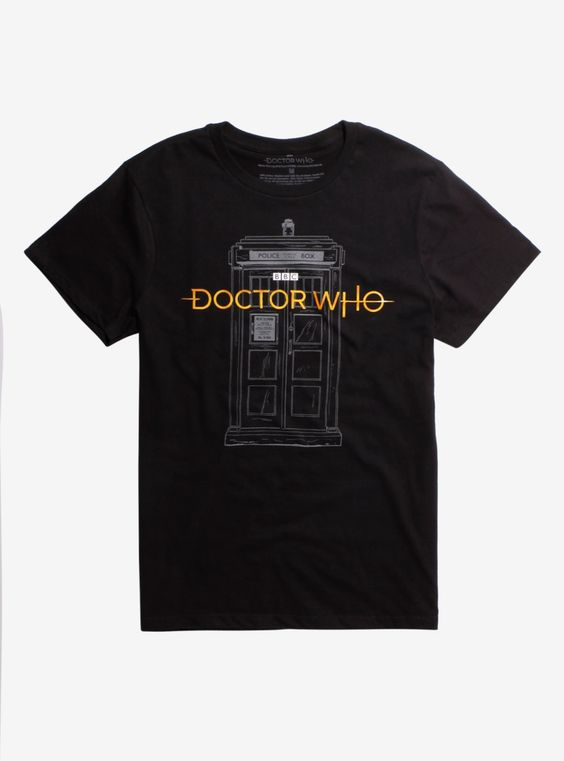 Doctor Who New Logo Exclusive T-shirt DV01