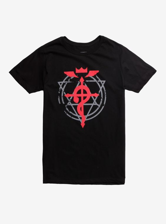 Fullmetal Alchemist Brotherhood Flamel T-Shirt DV01