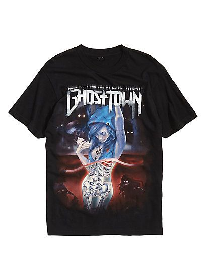 Ghost Town These Illusions Are My Latest T-shirt DV01