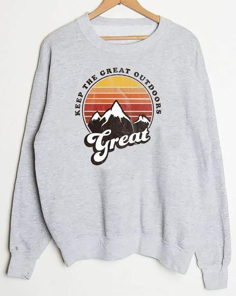 Great outdoors Sweatshirt DV01