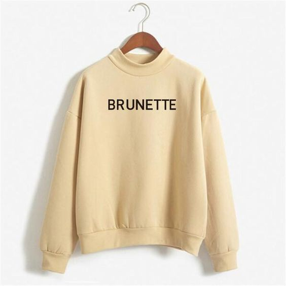 Nude Brunette Sweatshirt DV01