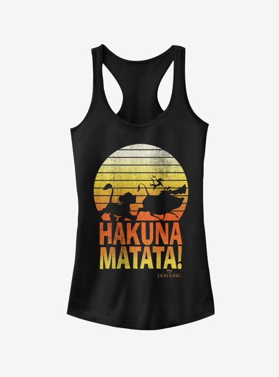 The Lion King Hakunas Girls Tank Top DV01