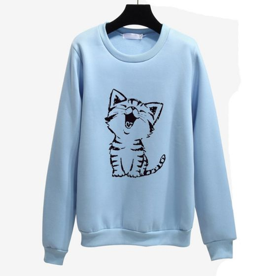 Baby Cat Cute Sweatshirt FD