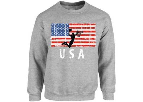 Basketball USA Sweatshirt DAN