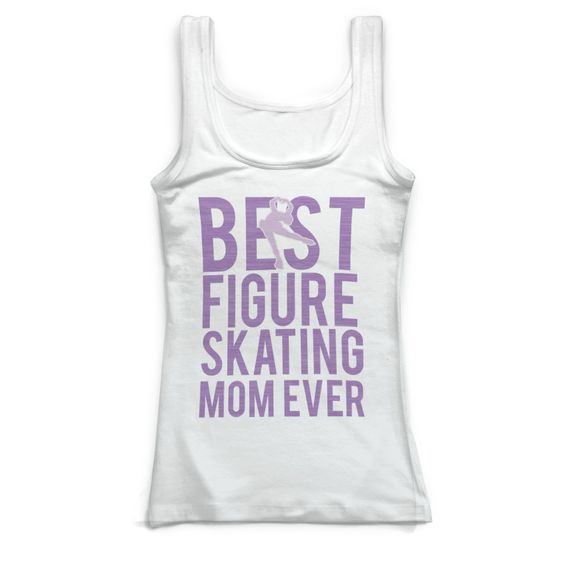 Best Figure Skating Tank Top DAN