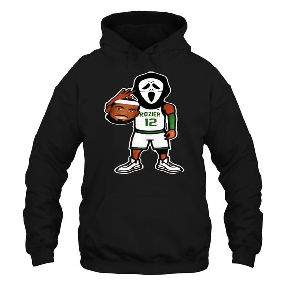 Boston Celtics Scary Lebron Hoodie EL01