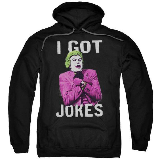 I Got Joker Adult Hoodie AV01