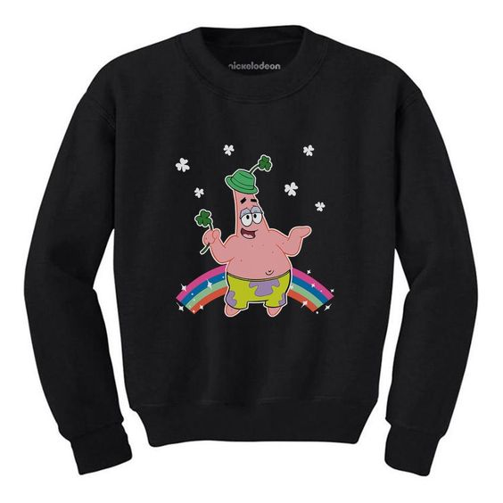 Patrick's Day Gift Spongebob Sweatshirt FD01