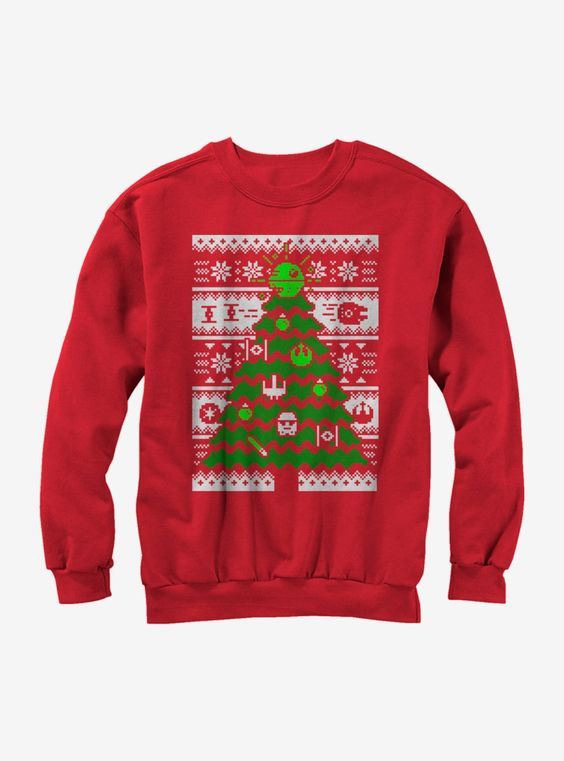 Star Wars Christmas Sweatshirt SR01