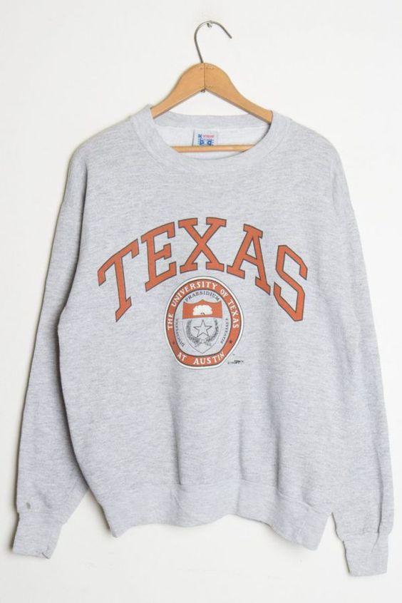 TEXAS University Sweatshirt DAN