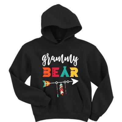 Arrow Grammy bear Hoodie VL27N