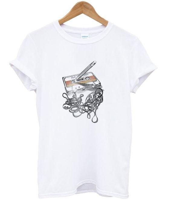 cassette tape t-shirt FD12N