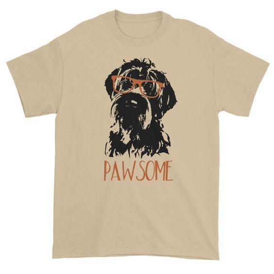 ALWAYS PAWSOME tee Shirt FD3D