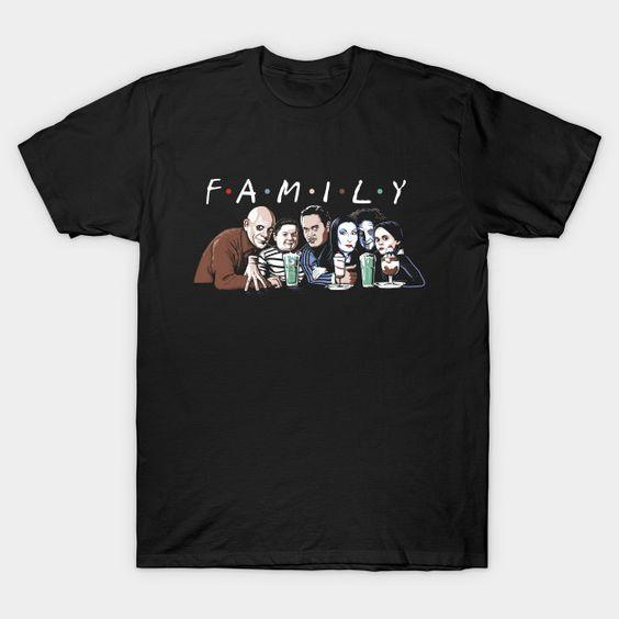Addams Family T-Shirt PT24D