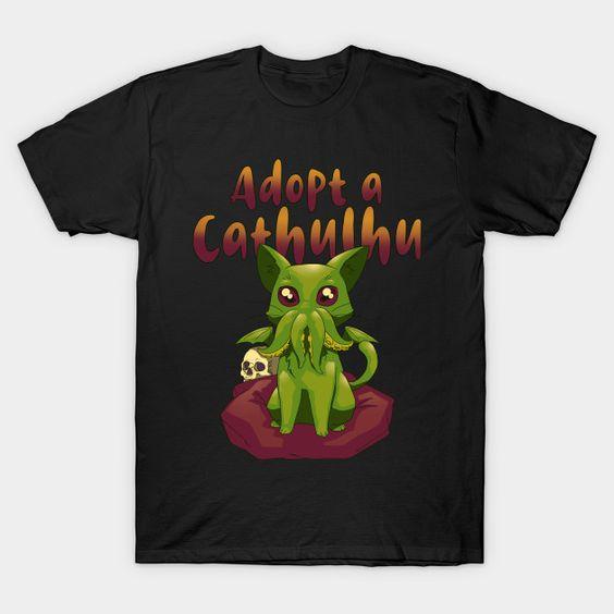 Adopt a Cathulhu T-Shirt LN27D