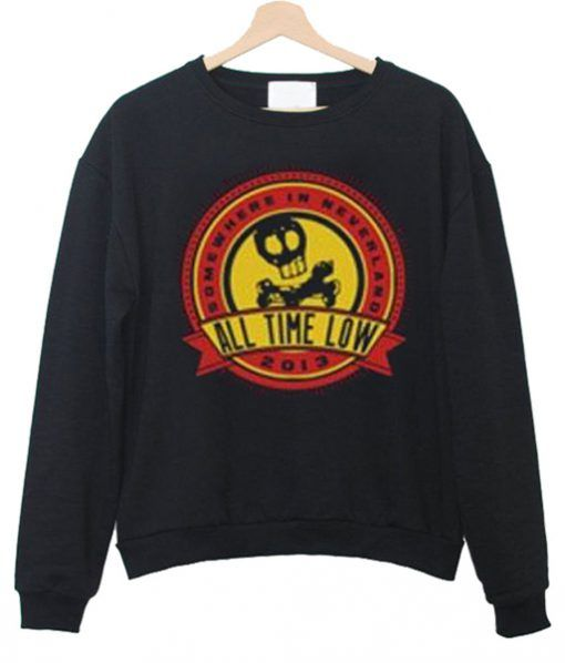 All Time Low Sweatshirt EL5D