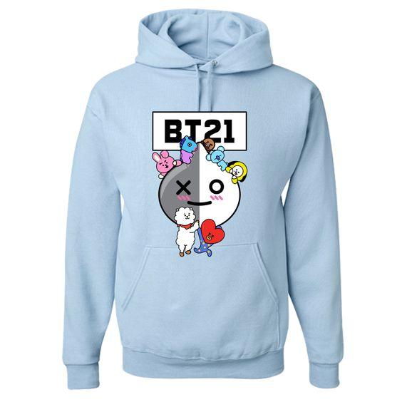 BT21 Hoodie D9AZ