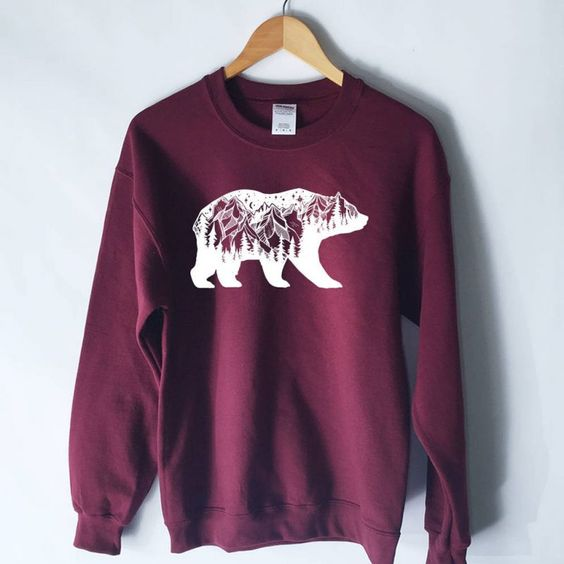 Bear Mountains Sweatshirt D2ER