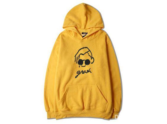 Grash Yellow Hoodie TT20D
