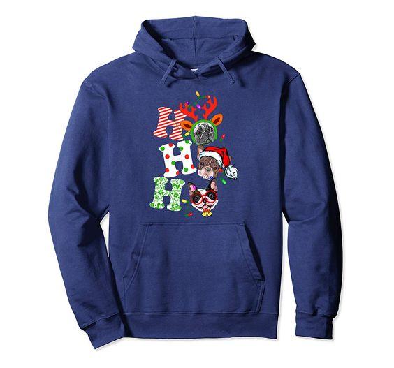 Ho Ho Ho Christmas Hoodie VL7D
