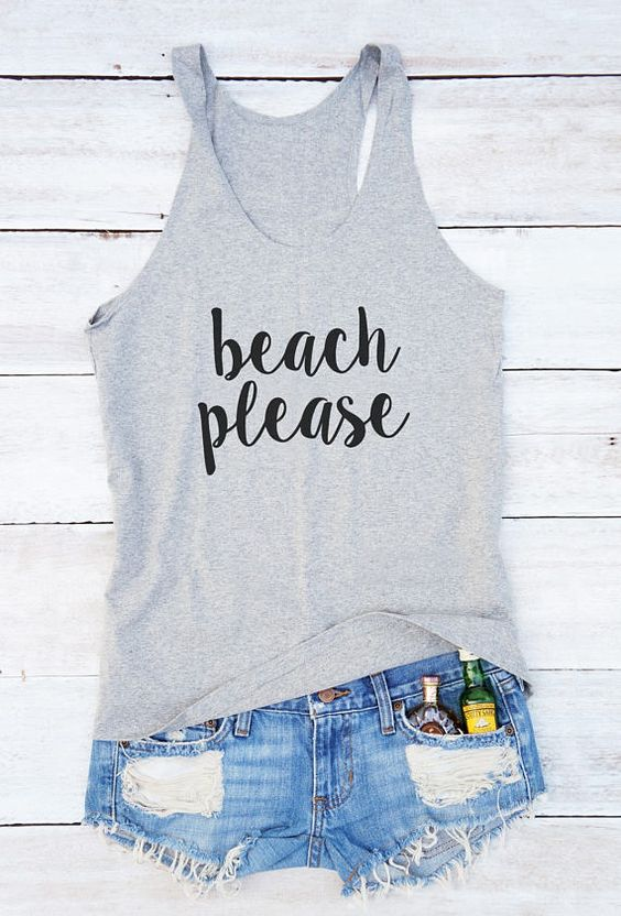 Beach please Tanktop ND13J0