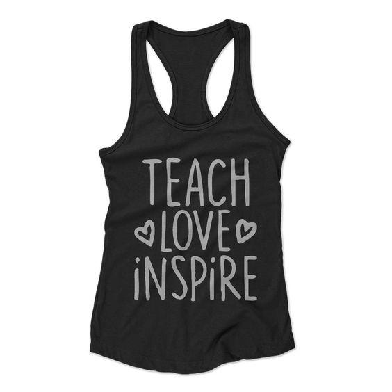 Teach Love Inspire tanktop FD24J0