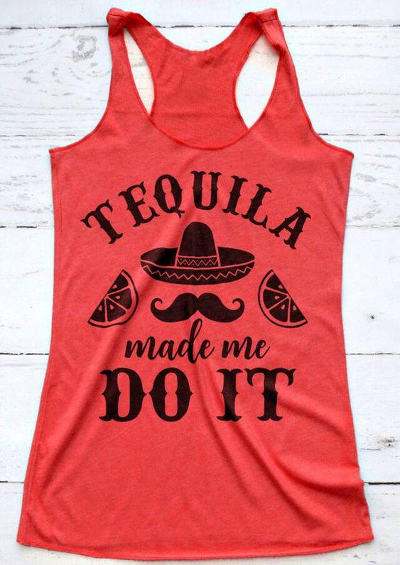Tequila Tank Top SR26F0