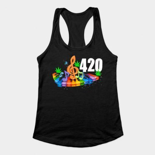 420 weed tanktop YN28M0