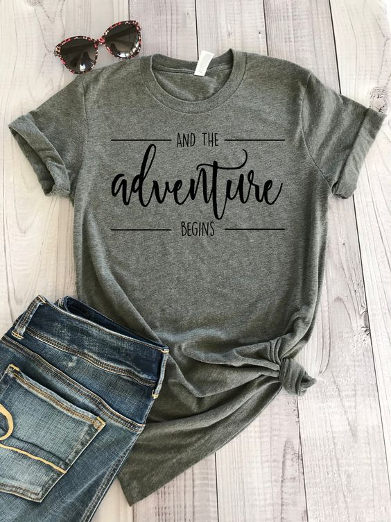 Adventure Begins T Shirt SP14A0
