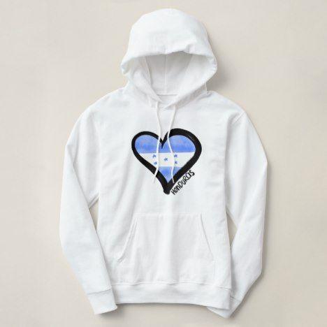 Honduras heart Hoodie AL30JN0