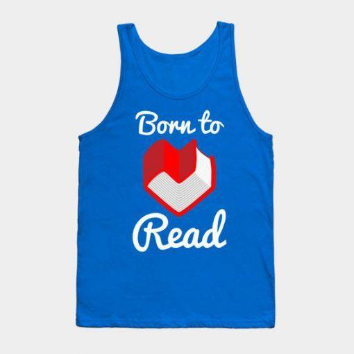 Born to read Tanktop AL4JL0