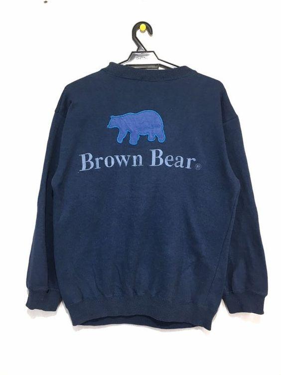 Brown Bear Sweatshirt TK22JL0