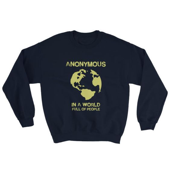 Anonymous Worldwide Sweatshirt AL19AG0
