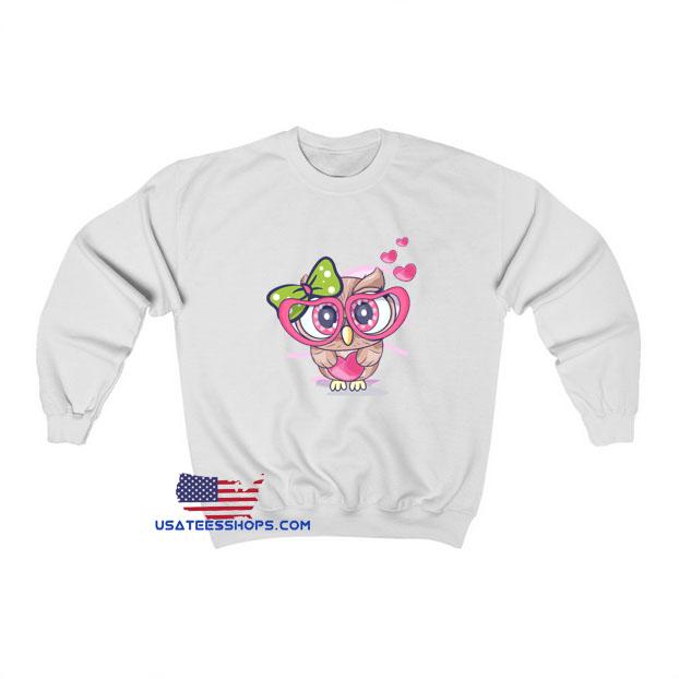 Cute Little Owl Girl Sweatshirt SA23JN1
