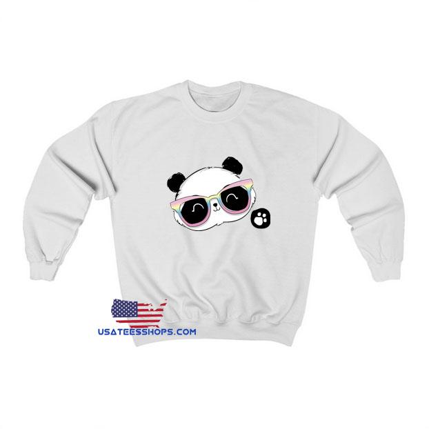 Cute Panda Bear Sweatshirt SA23JN1
