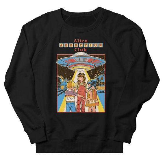 Alien Abduction Club Sweatshirt UL26F1