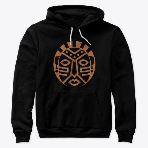 African Black Mask Hoodie SR2MA1