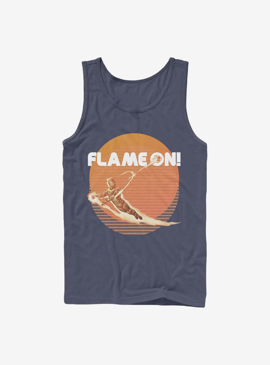 Fantastic Four Retro Flame Tanktop AL26MA1