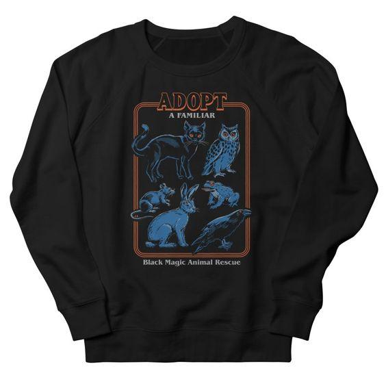 Adopt a Familiar Sweatshirt UL27A1