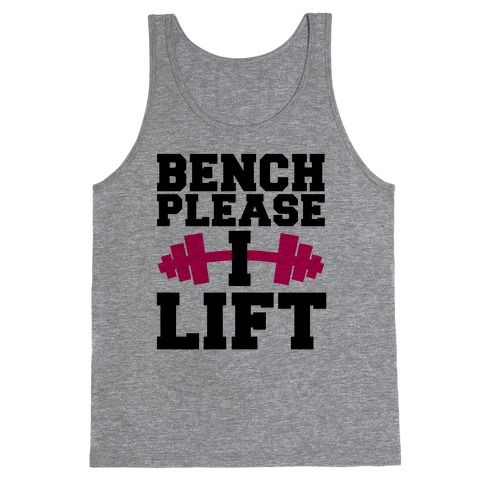 Bench Please Tanktop UL3A1
