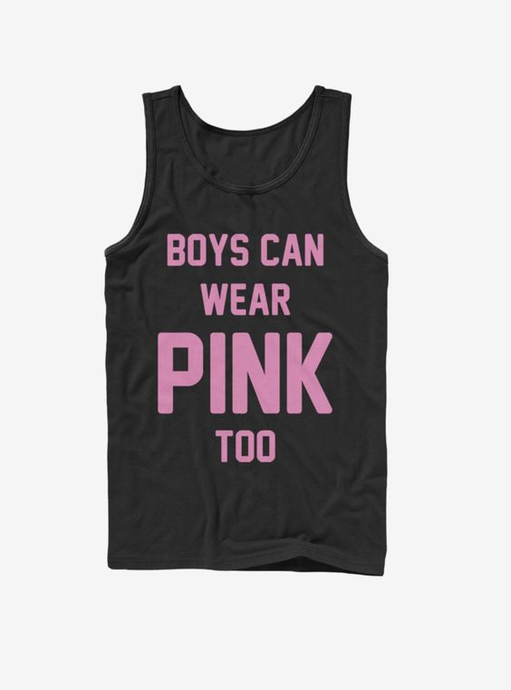 Can Wear Pink Tank Top IM30A1
