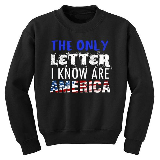 The Only Letter Sweatshirt SD12A1