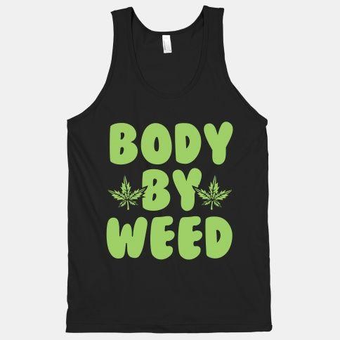 Body By Weed Tanktop AL21M1