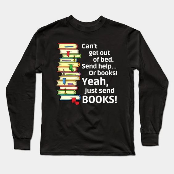 Just Send Books Sweatshirt SR11M1