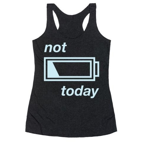 Not Today Tank Top SR3M1